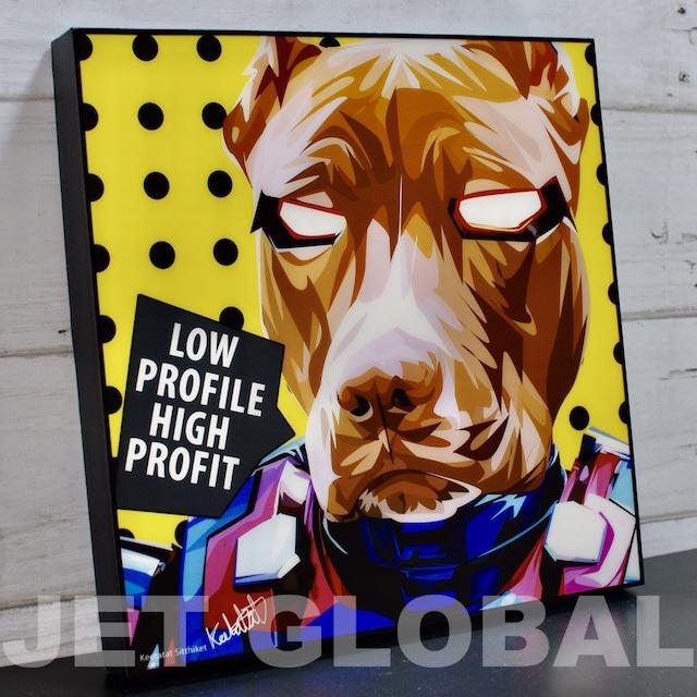 アイアン ドッグ/ IRON DOG / Lサイズ 52cm / PAPAN_0010