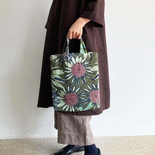 エピス 2wayトートバッグ クリムト9月の花園柄
