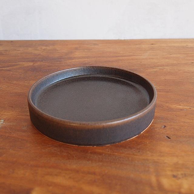 松尾直樹 | 鉄釉 ドラ鉢 小