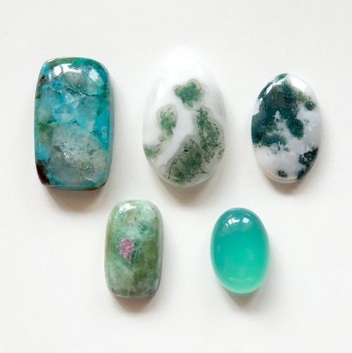 天然石セット Green