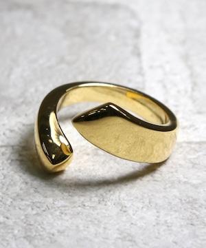 Y170524GUR02【YArKA/ヤーカ】silver925 thick pole design ring[thi]/シックポールデザインリング
