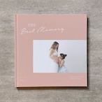 Simple pink-MATERNITY_B5スクエア_6ページ/6カット_フォトブック