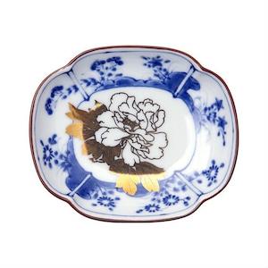 MAME 草花文木瓜形皿 / 豆皿 そうかもんもっこうかたさら