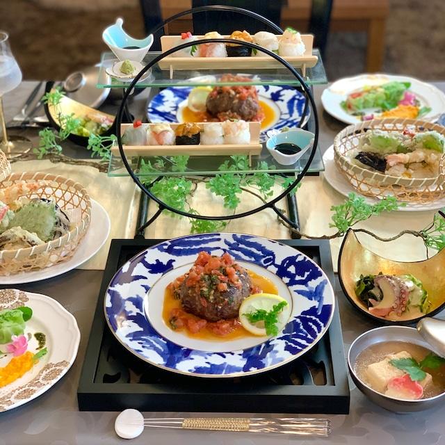 和牛の彩り野菜包み焼き、手毬寿司など全6品献立まとめ