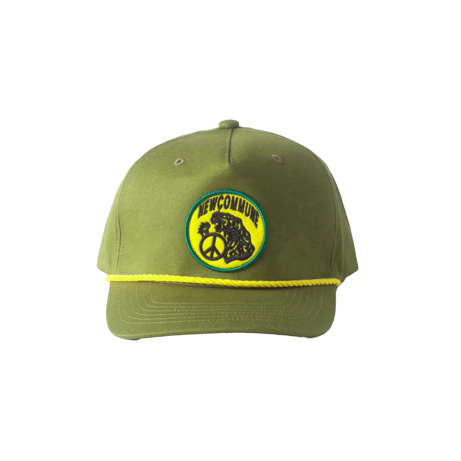 NEW COMMUNE 5 PANEL CAP / GREEN - 画像2