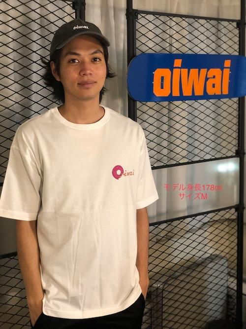 オーバーサイズTシャツ White