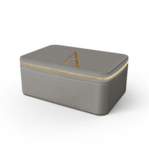 Box Premium Smooth Leather Case (Concrete Grey)