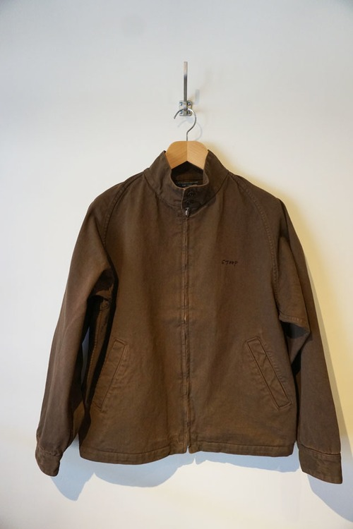 LIVING CONCEPT×IFNi ROASTING&CO. COFFEE DYED DRIZZLER JACKET[BROWN]
