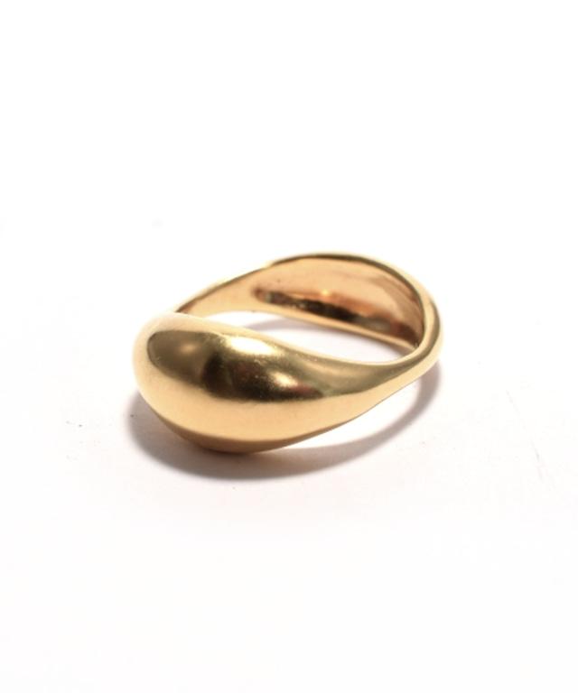 Plump / Ring - K18gp