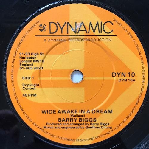Barry Biggs - Wide Awake In A Dream【7-20675】