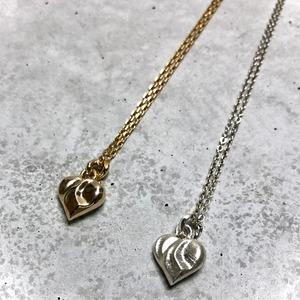 【MN-8BR】Heart motif long pendant
