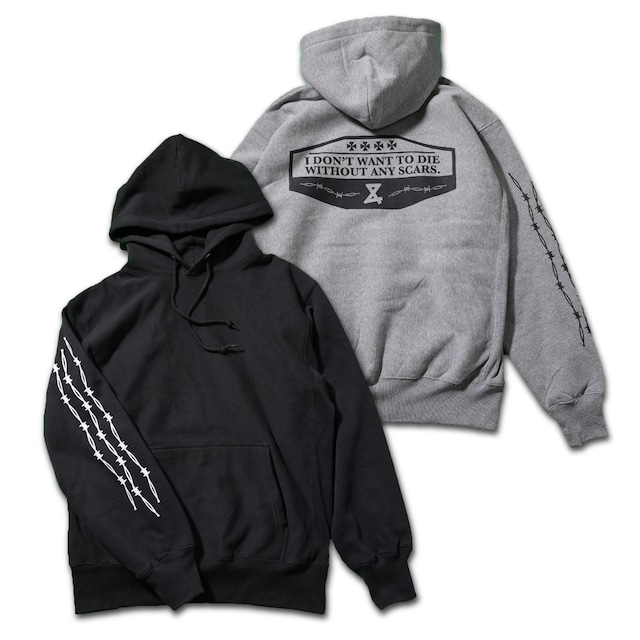 Barbed wire Pullover Hoodie
