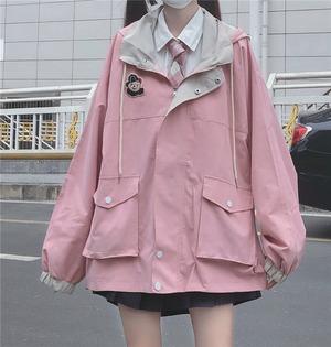 2色/ベア刺繍ジャケット ・17856