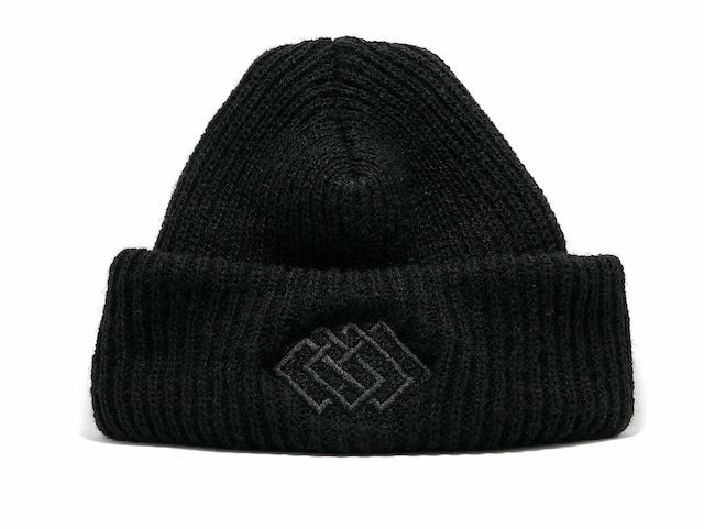 黒電話666 (BLACKPHONE666) - HAT002(KNIT CAP)