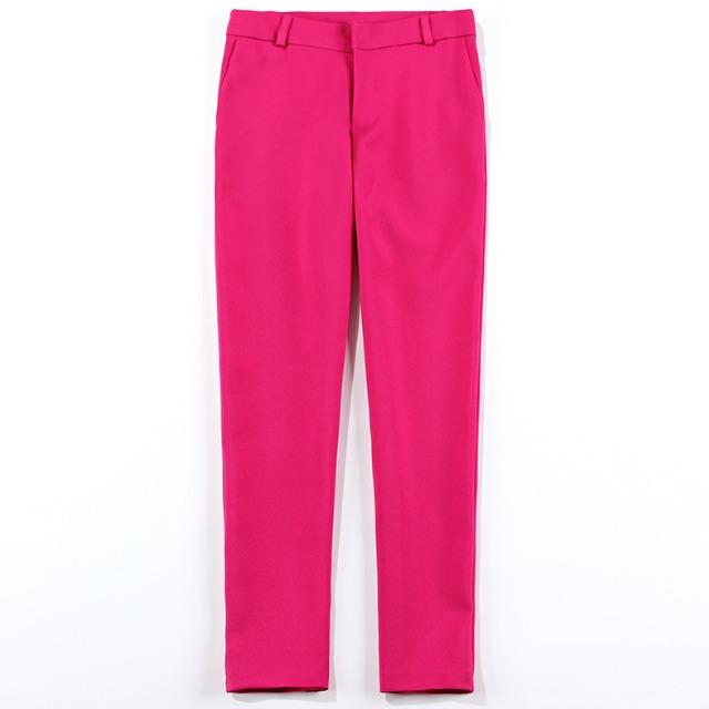 カラー ストレート パンツ【R0703】