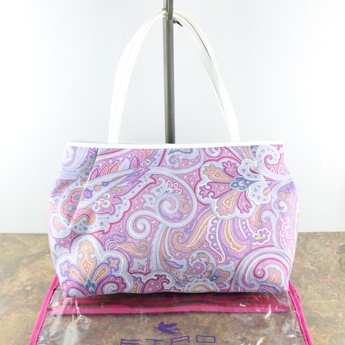 .ETRO PAISLEY PATTERNED TOTE BAG MADE IN ITALY/エトロペイズリー柄トートバッグ 2000000050348