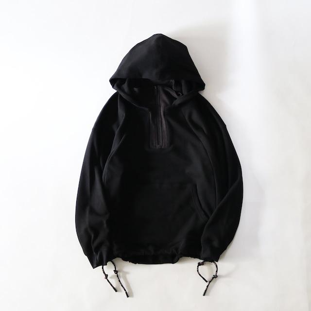 BOA LAYERED HOODIE - BLACK