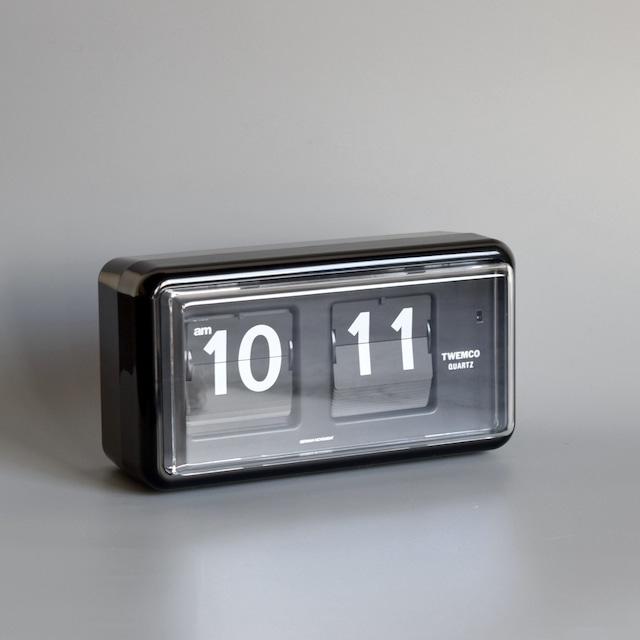 """Twemco Table Clock #QT-30 """"Black"""" トゥエンコテーブルクロック#QT-30""""ブラック"""""""