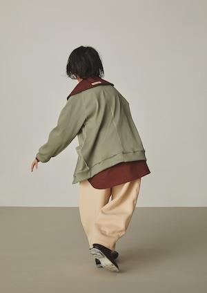 【21AW】GRIS ( グリ )Tapared Pants[XS/S/M]Ecru パンツ テーパード