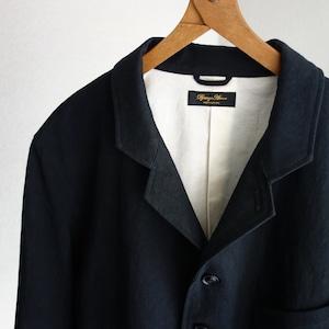classic irishworker jacket / black