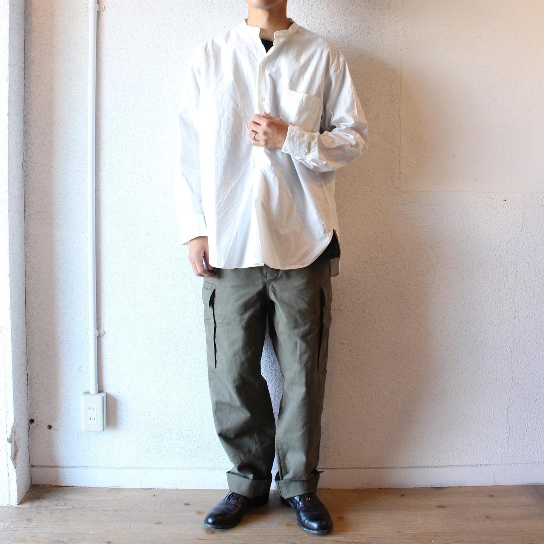 Audience(オーディエンス)/ Bandcollar Sleeping Shirts(バンドカラー スリーピングシャツ)
