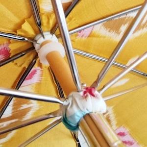 オーダー日傘(お着物を傘にリメイク)