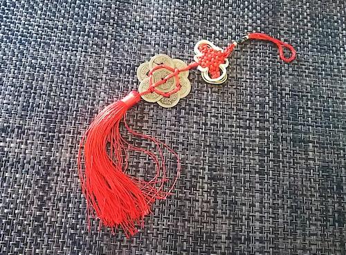 中国 装飾品 コイン