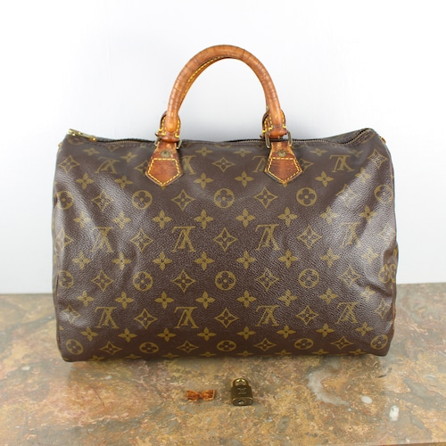 .LOUIS VUITTON SPEEDY35 M41524 SP1911 MONOGRAM PATTERNED BOSTON BAG MADE IN FRANCE/ルイヴィトンスピーディ35モノグラム柄ボストンバッグ 2000000050263