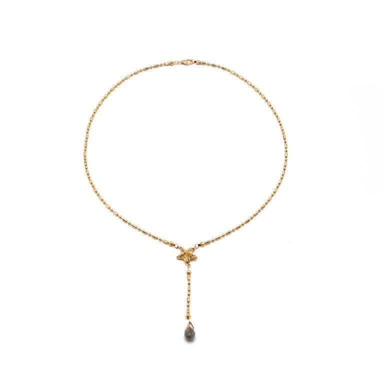 フランス リヨン発  準貴石のネックレス