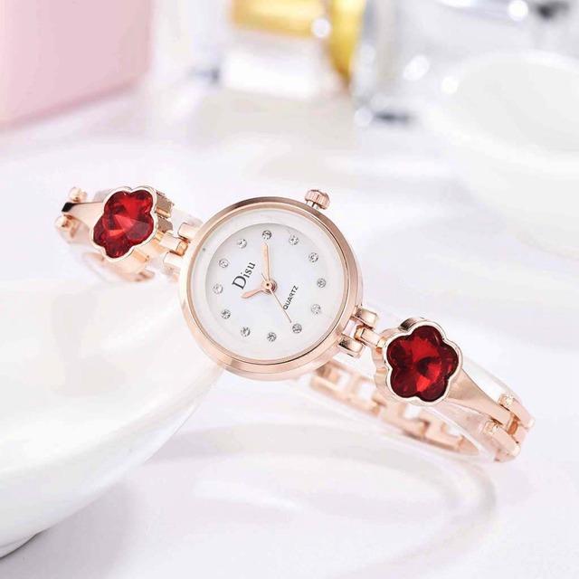 DISU LT-D3067(red) レディース腕時計