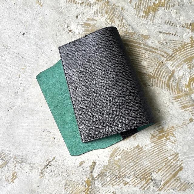 BOOK COVER(新書サイズ)ブラック × グリーン