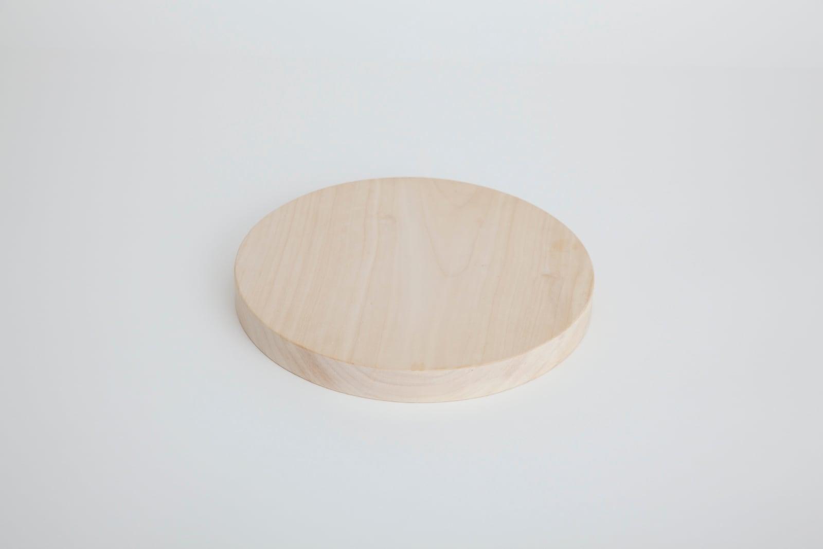 小さい丸いまな板 23cm