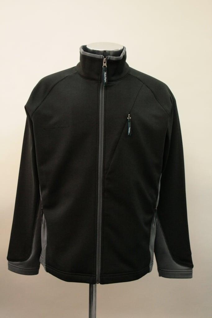 PEM-8S601 メンズフリースジャケット(色:BL/MGR、吸水速乾加工)