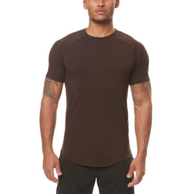 【ASRV】Silver-Lite®エスタブリッシュTシャツ - Black Brushed Camo
