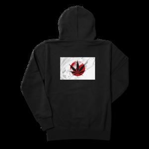 MJ SELECTオリジナルロゴデザイン【パーカー】Japan Flag×大麻柄 ロゴ