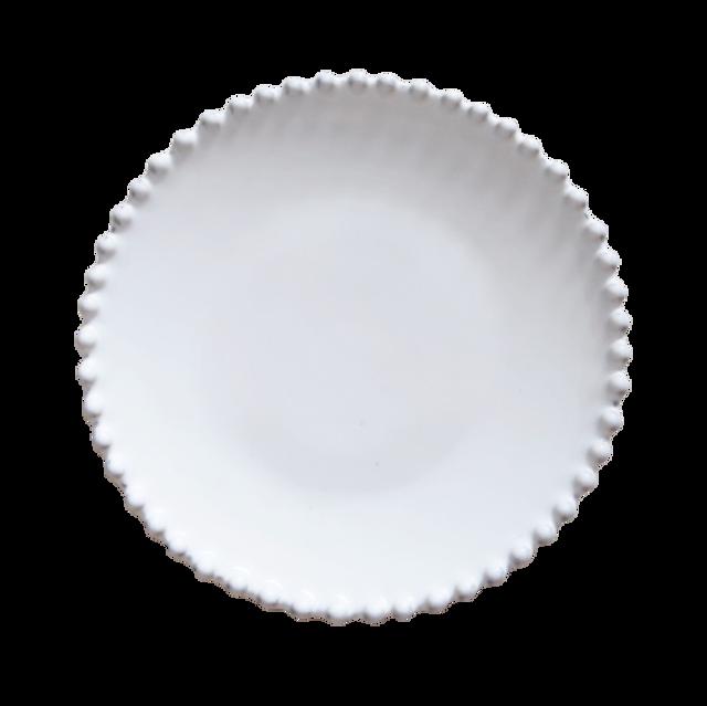 パールホワイト サラダプレート 22cm