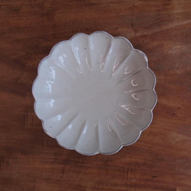 真泥・菊浅鉢