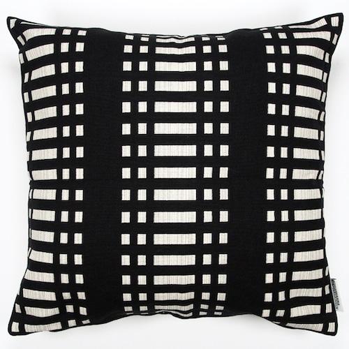 JOHANNA GULLICHSEN(ヨハンナ グリクセン) Zipped Cushion Cover Nereus(ネレウス) Black
