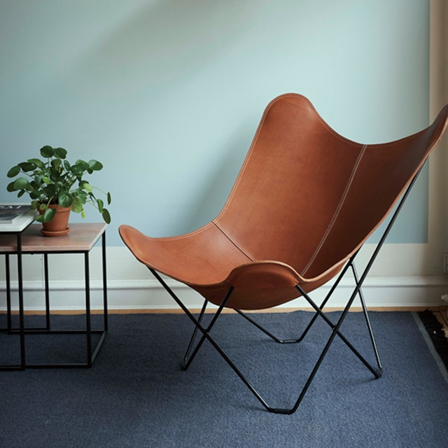 今だけPILLOW FOR BKFプレゼント! BKF Chair バタフライチェア ブラウン[cuero]