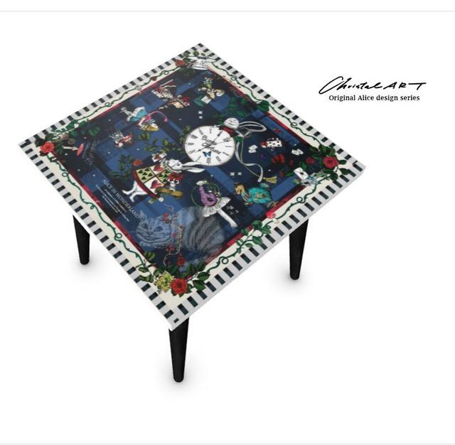 ◆受注生産◆ChristalARTオリジナルデザイン◆サイドテーブル