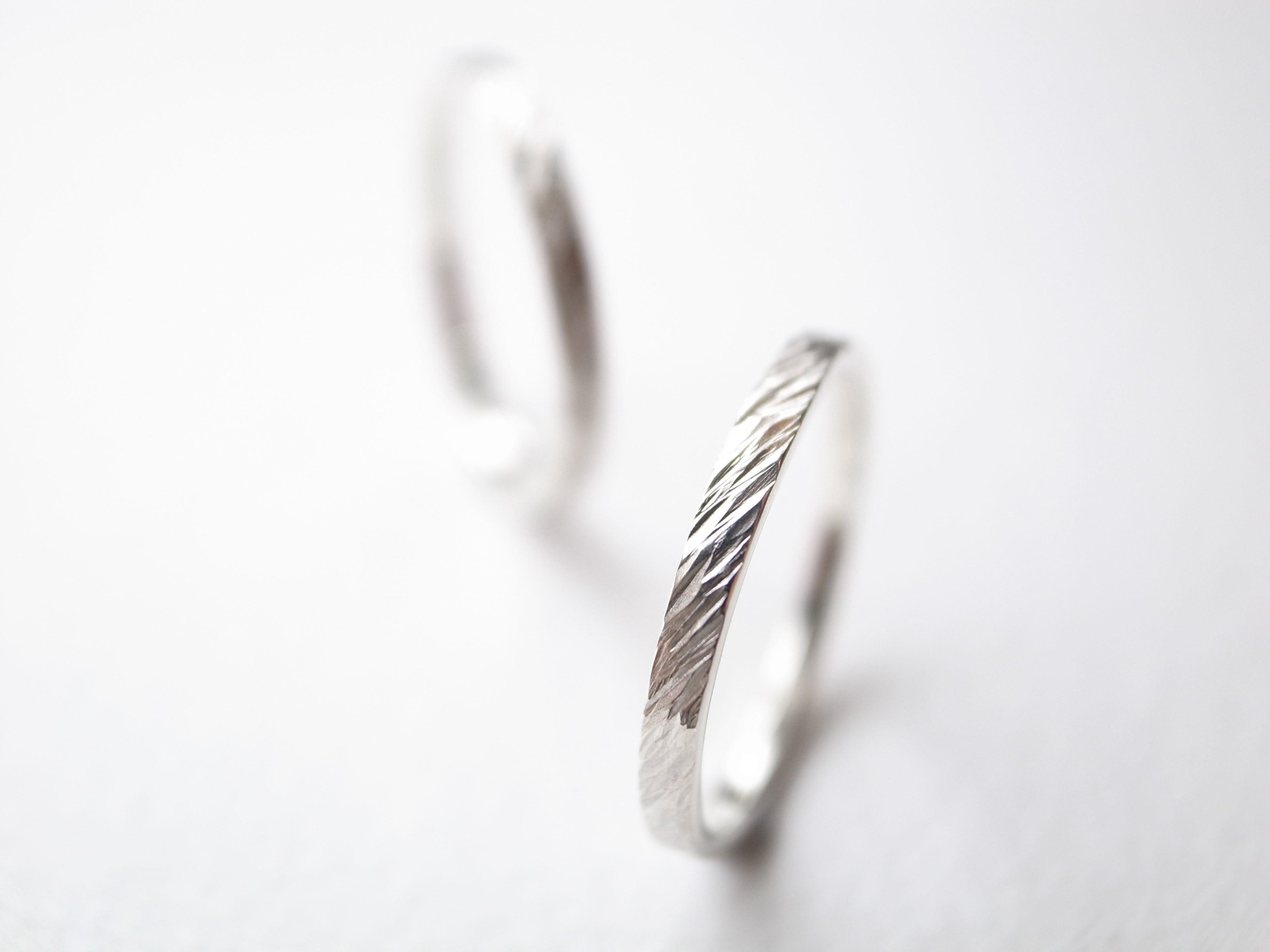 【pairing】Pt900/fur ring