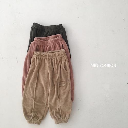 minibonbon パイル地パンツ90~130