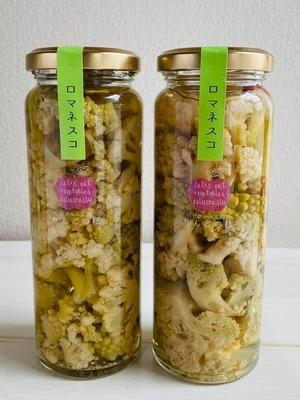 浜松産 ロマネスコとカリフローレのピクルス 常温保存可