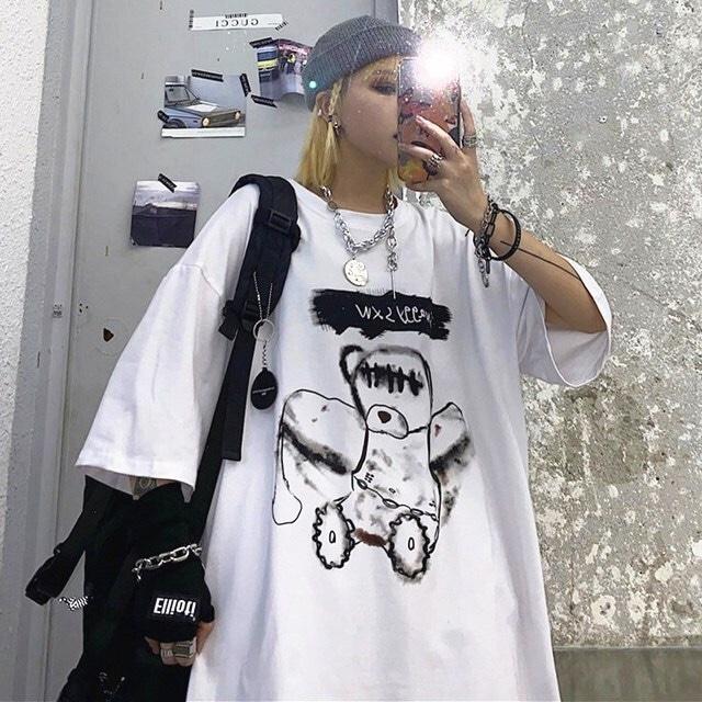 【トップス】カジュアルプリント半袖シンプルファッションTシャツ41325247