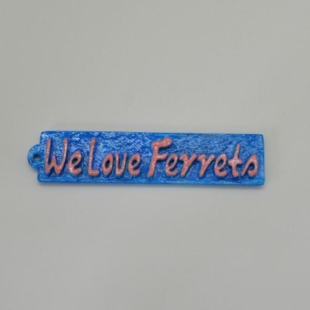 We Love Ferrets タグ キャスト製 ②