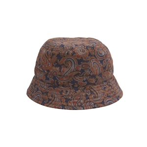 WHIMSY / PAISLEY HAT -NAVY-