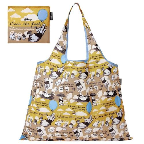 ディズニー ショッピングバッグ【風船とプーさん】折りたたみエコバッグ(DSN-DJQ-3818)