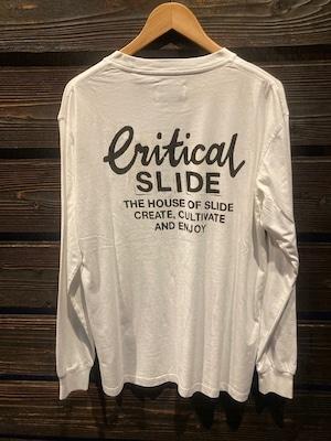 Critical Slide CREATOR LS TEE V.White Mサイズ TE2152
