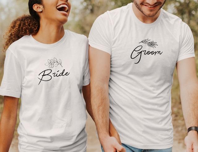 【送料無料】大人のペア Tシャツ │ 結婚 ウェディング 新郎新婦