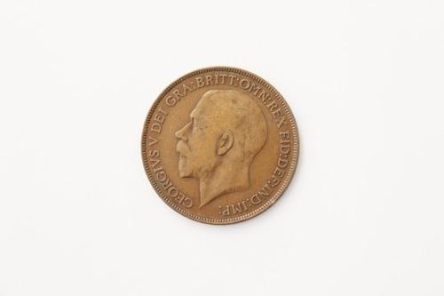 ペニー銅貨 ジョージV世